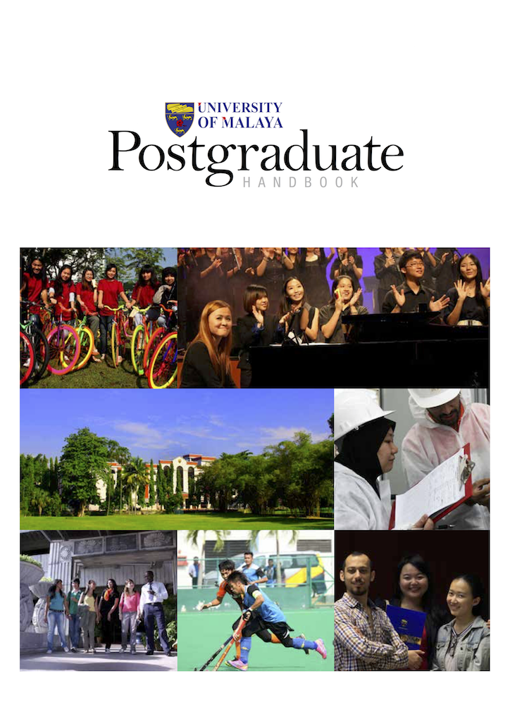 Postgraduate brochure cover